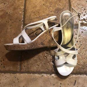 Ladies wedges dress shoe